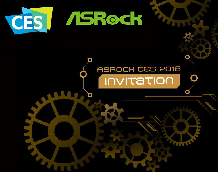 ASRock in CES 2018
